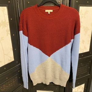 ⭐️ 2/$40 ⭐️ Colorblock Knit Sweater